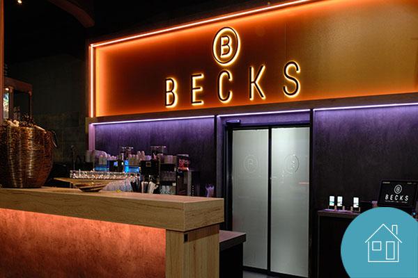 BECKS Restaurant setzt auf Lichtlösungen von Deko-Light